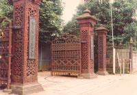 学習院鉄門(国の重要文化財)